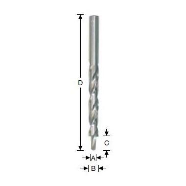 Wiertła stopniowe HSS 180°