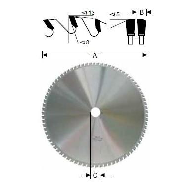 Tarcze HM do profili stalowych oraz metali lekkich